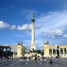 центральная площадь Свсятой Троицы, Будапешт